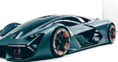 兰博基尼的新Terzo Millennio是一款自我修复的超级跑车