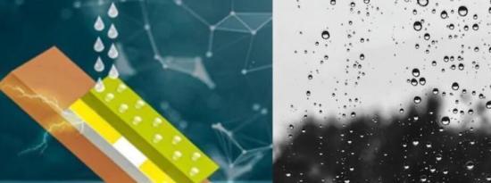 IIT德里开发了一种可利用雨滴海浪发电的装置