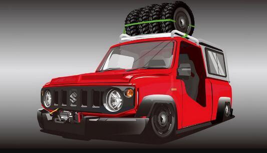 铃木Jimny Safari卡车毫无意义 只是看起来很酷