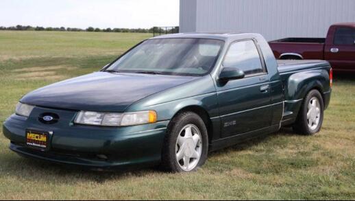这辆1994年福特金牛座SHO皮卡的价格是7500美元