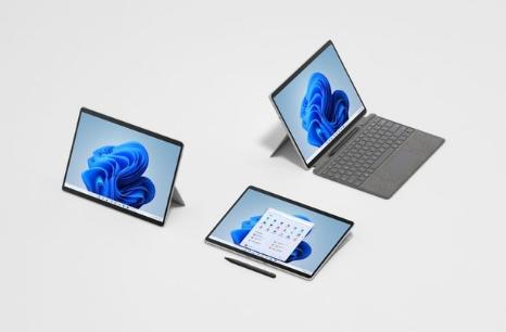 微软推出Surface Pro 8和Surface Go 3二合一笔记本电脑
