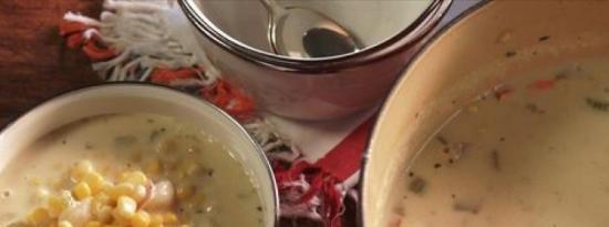 玉米海鲜汤