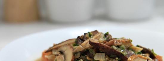 玛莎拉蘑菇汤