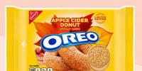 Apple Cider Donut Oreos将于2021年秋季上市