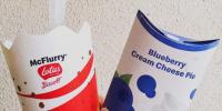 麦当劳的蓝莓奶油芝士派又回来了