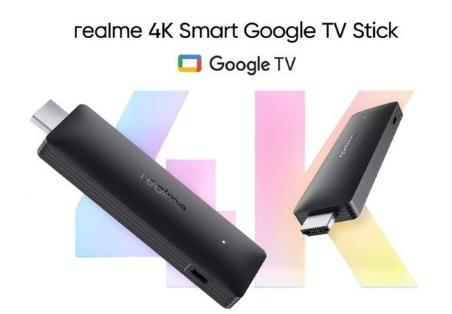 Realme 4K智能Google电视棒正式上市