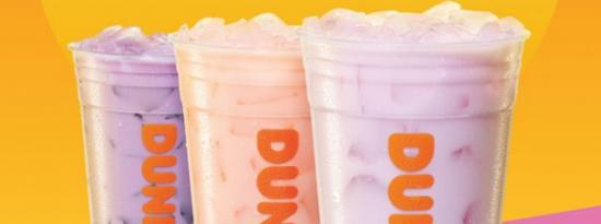 Dunkin现在在其各地的商店提供椰奶