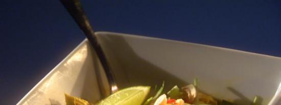 泰式咖喱鸡汤面