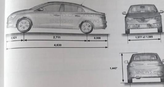 2020新款雷诺Megane汽车概述泄漏手册